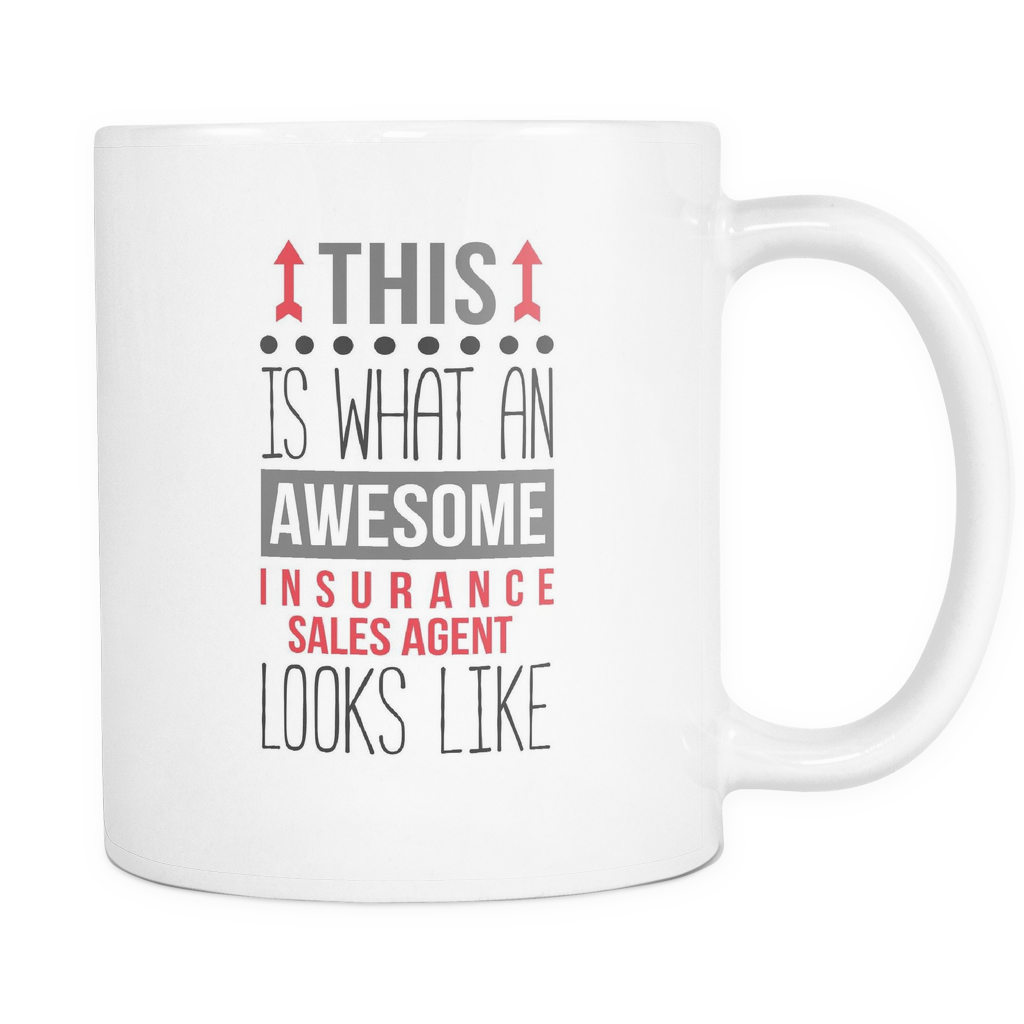 Insurance Sales Agent Mug Awesome Insurance Sales Agent
