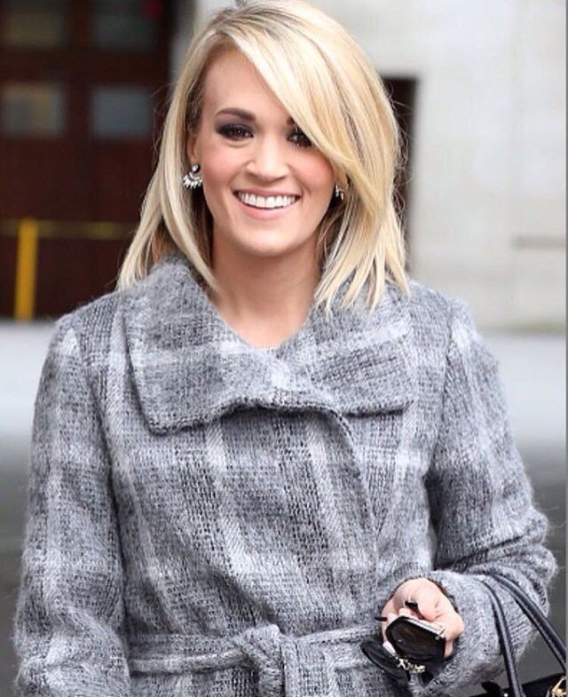 Sensational Carrie Underwood In London March 2016 Carrie Underwood Short Hairstyles Gunalazisus