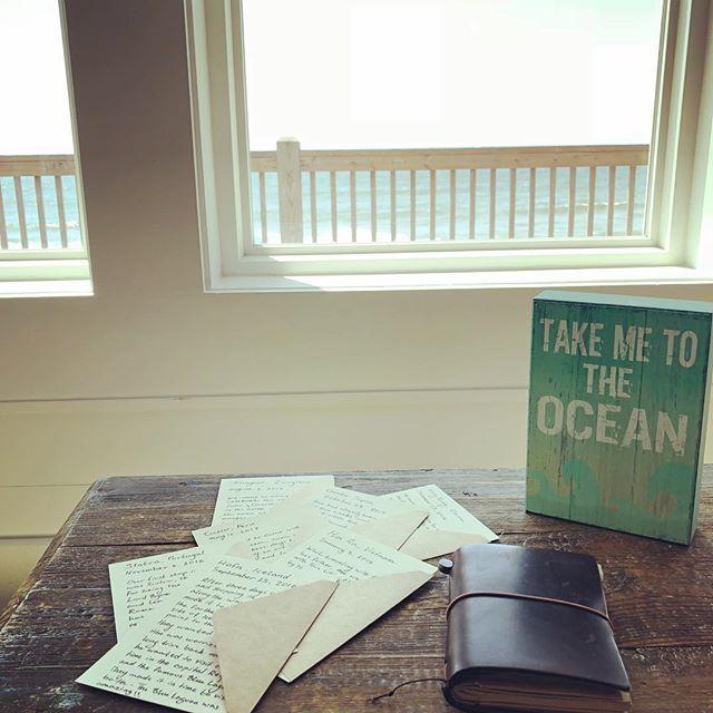"abe challah on Instagram: ""letters . . . . . . . . . . #postcards #letters #travel #vagabonding #journaling #beach #wanderlust #letter #travelersnotebook…"" – Pen Pal & mails"