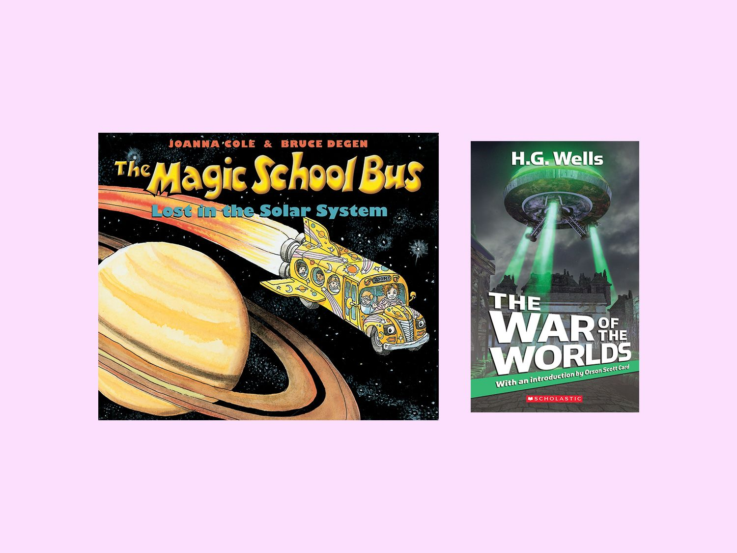 Introduce These Fiction And Non Fiction Books About Space