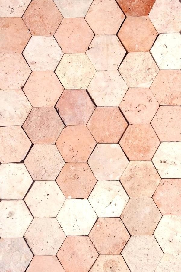 Reclaimed Hexagonal Flooring Hexagon Terracotta Tile Floor
