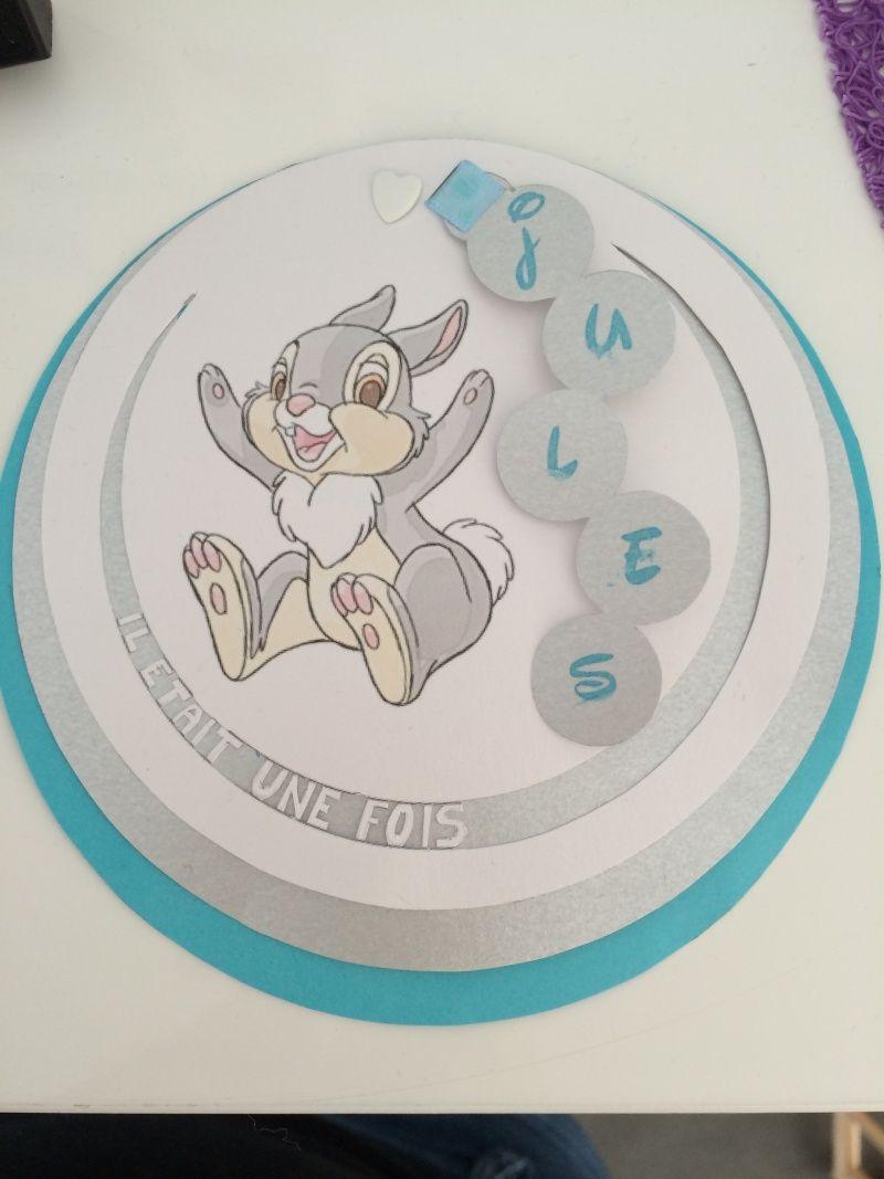 Admirable Arrivée de bébé dans le monde de Disney (déco chambre, faire part XN-41