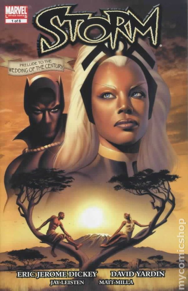 Image result for Storm/Black Panther wedding