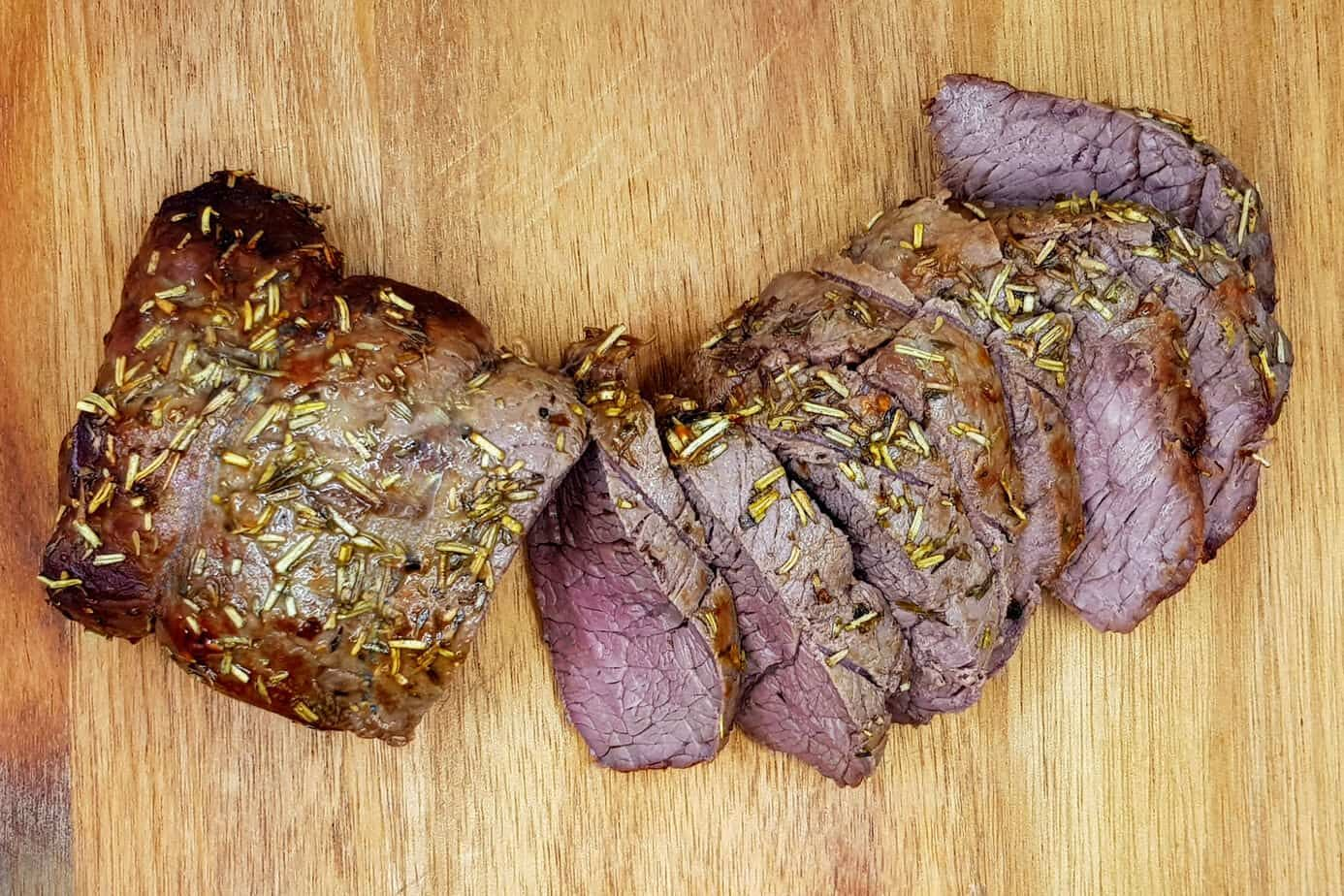 How long to roast beef in an air fryer Roast beef