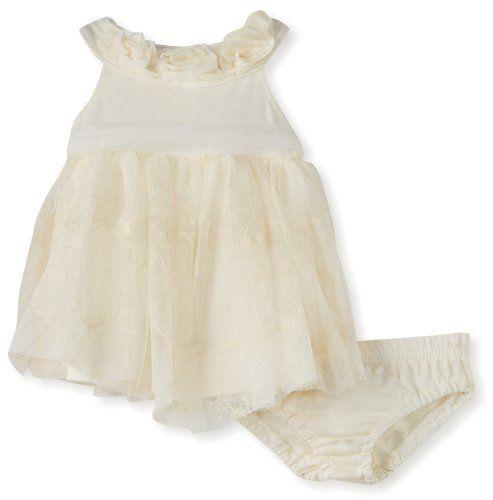 Nannettek Baby-girls Newborn 2 Piece Tack Bow Knit Dress And Panty, Beige, 3-6 Months Children's Apparel Network,http://www.amazon.com/dp/B00ANKOO4K/ref=cm_sw_r_pi_dp_5mxprb0K3T5VXAJK