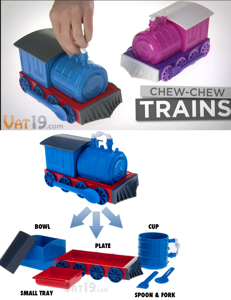 Lovely Vat 19 Chew Chew Trains  Your Train Could Be Delivering Food And You Could. Dinner  SetsChildrenu0027s ... Great Pictures