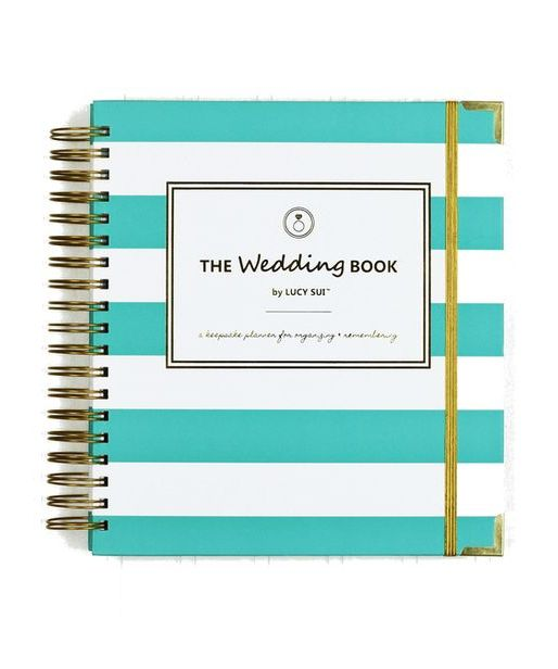 Keepsake Wedding Planner Book Monogrammed Planning Guide Engagement Gift Maid Of Honor Organizer