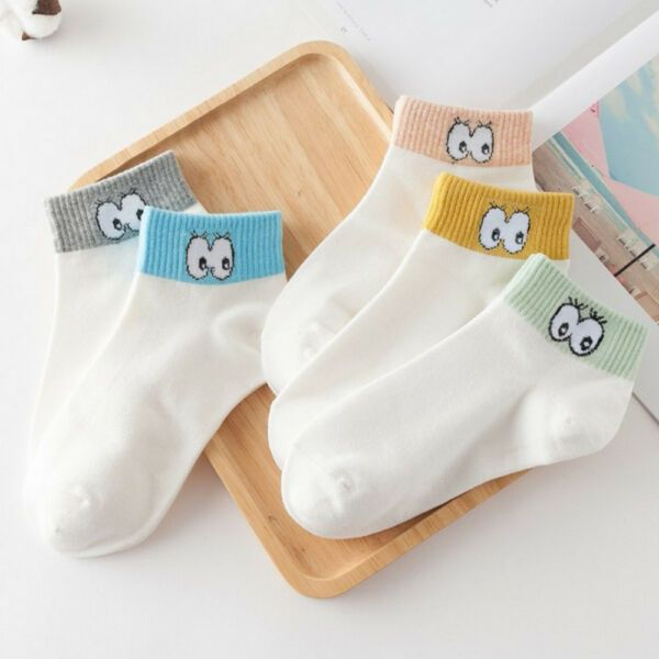 Spring Outfits Charm Cute Eyes Women Sock Lady Short Spring Summer Ankle SockA #forsale #Charm #Cute #Eyes #Women #Sock #Lady #Short #Spring #Summer #Ankle #SockA