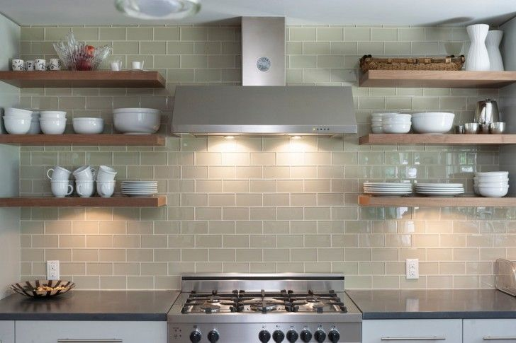 Kitchen Marvelous And Perfect Design One Wall Kitchen Simple Kitchen Ideas Brown Subway Tile B Floating Shelves Kitchen Open Kitchen Shelves Kitchen Wall Tiles