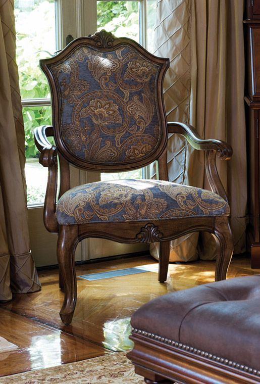 Bombay Co Inc Living Chair Blue Upholstered Chair Furniture