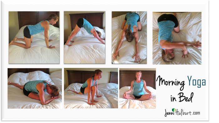 Morning Yoga: When You Just Want To Stay In Bed | Jenni Hulburt