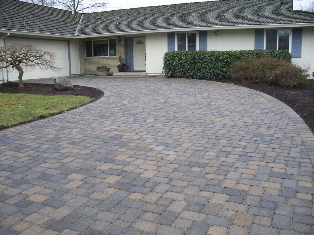 Cost to install brick paver driveways brick paver driveway