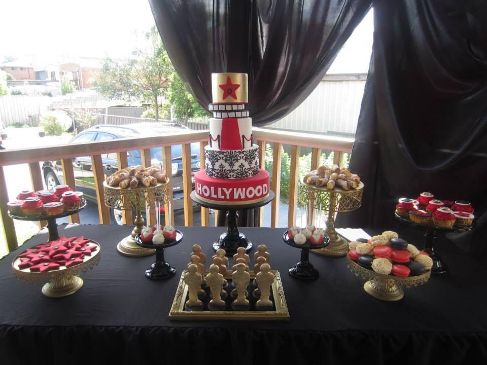 Hollywood Theme Party Via Babyshowerideas Hollywoodparty