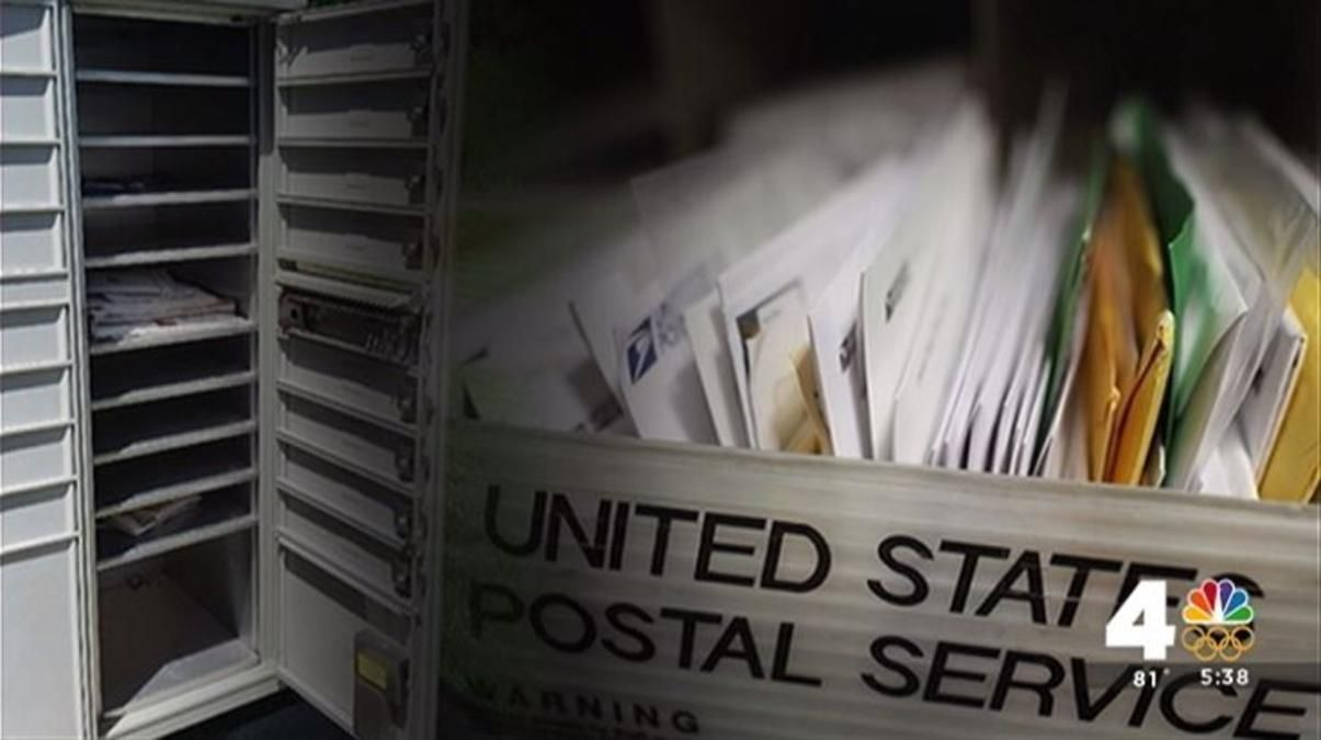 An apartment complex in Maryland dealt with mail problems for months, but their complaints received no response.