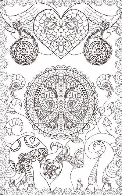 Pin de Carla Right en Adult coloring | Pinterest