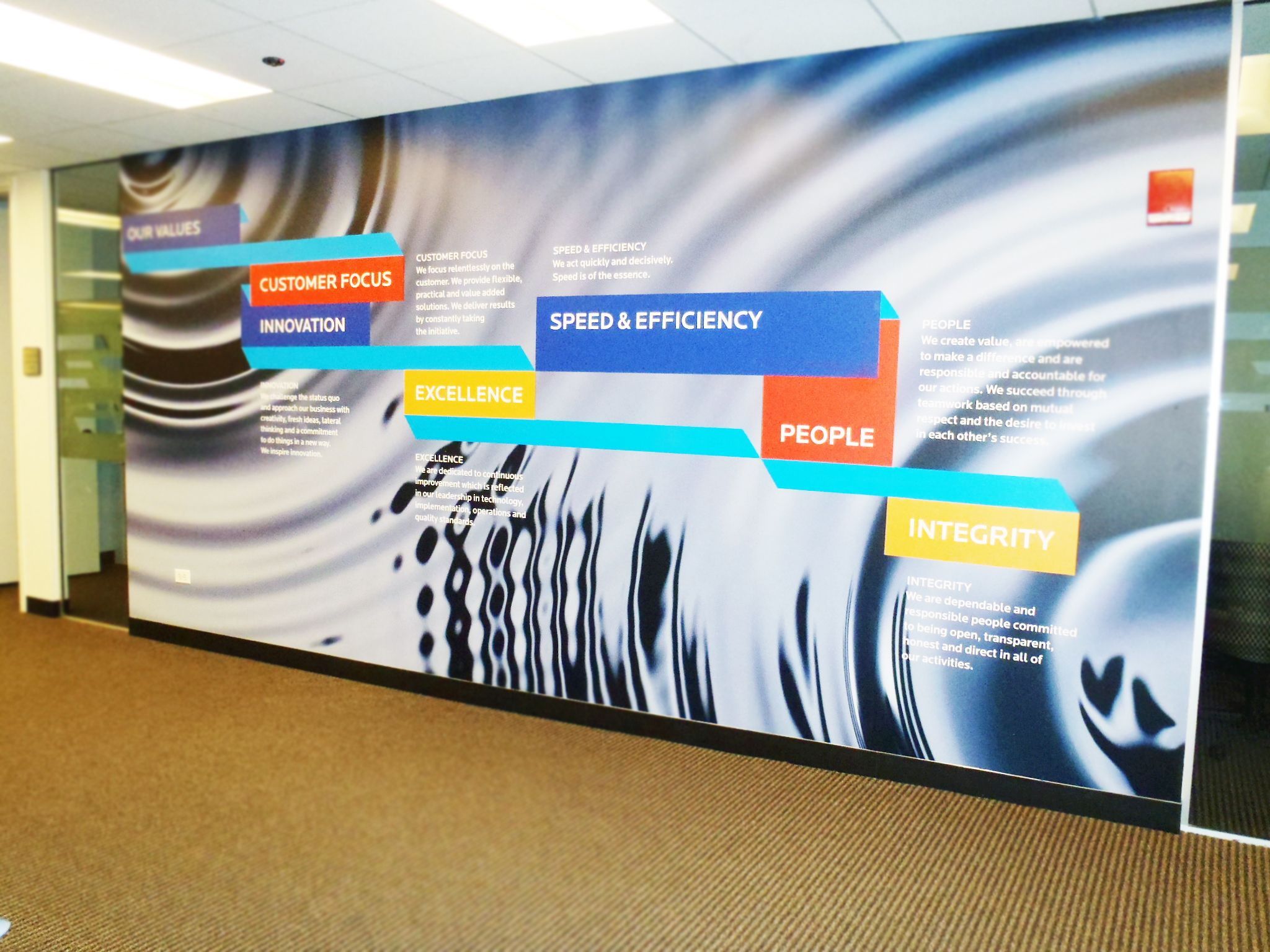 Graphic Wall Company Values