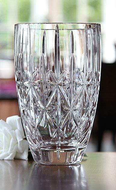 Marquis By Waterford Crystal Sparkle 9 Crystal Vase Marquis