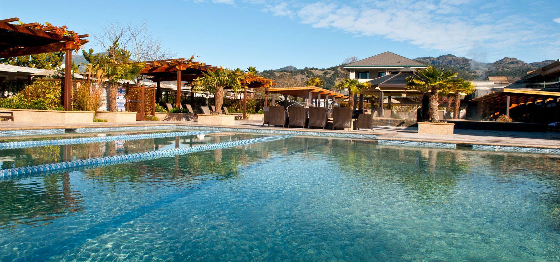 Relaxing Napa Valley Hotel Spa Napa Valley Hotels Calistoga Spa Napa Valley Calistoga