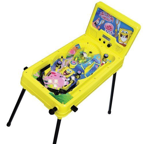 Miniature Pinball Machines - SpongeBob Jellyfish Jamboree