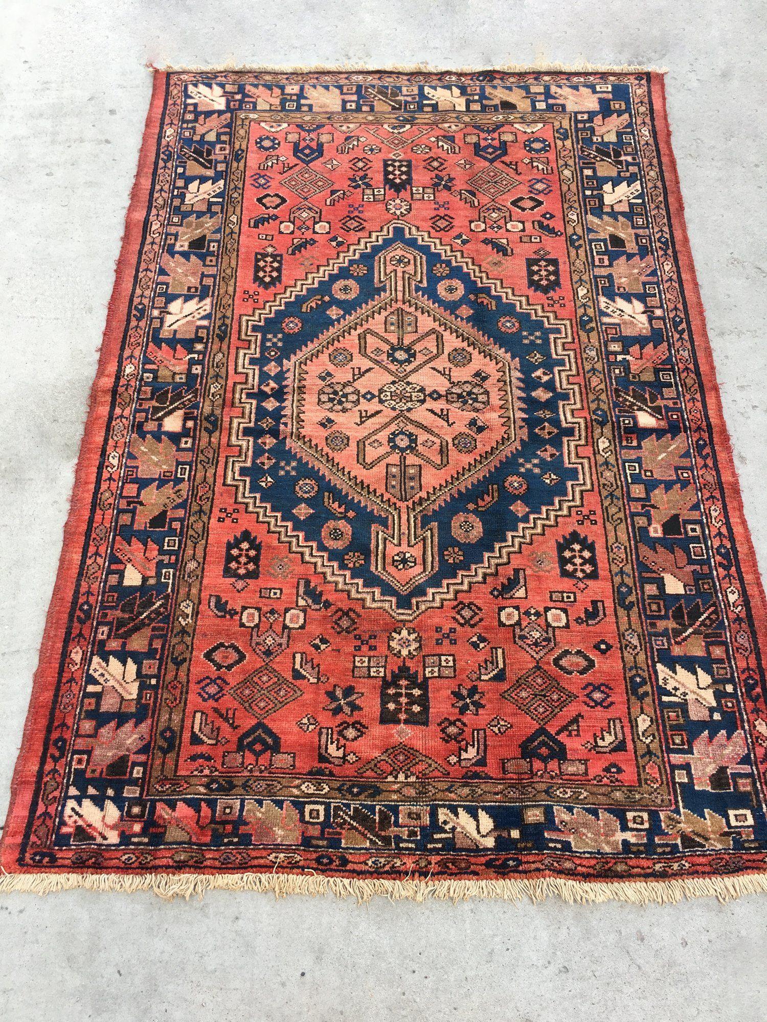 Persian Rug 4 4 X 6 7 By Loom Kiln Shop Rugs Persian Rug