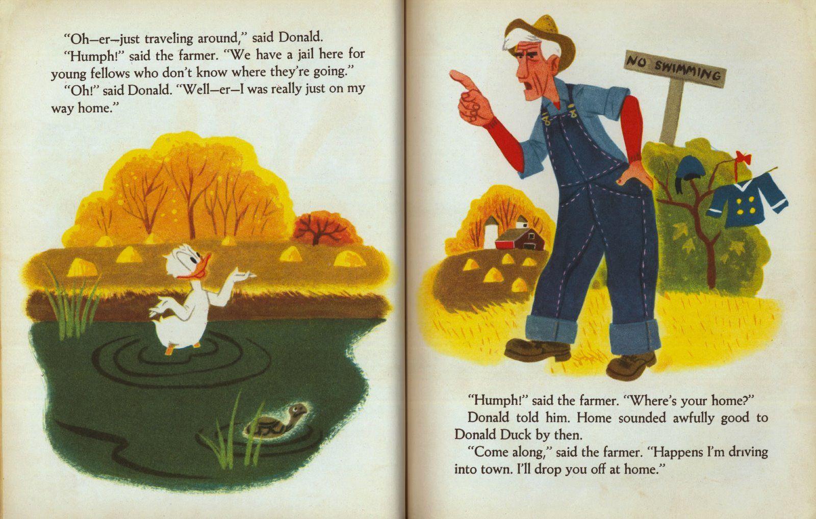 Donald ducks adventure illustrated by walt disney studio