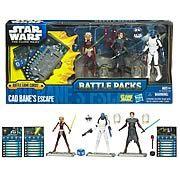 STAR WARS THE CLONE WARS Figures Ahsoka Tano Cad Bane/'s Escape Anakin Skywalker