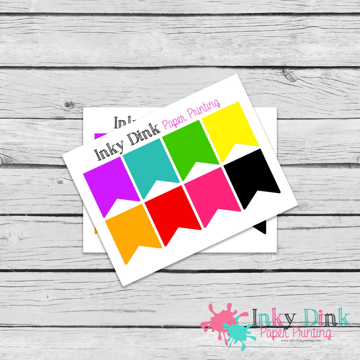 New to InkyDinkPrinting on Etsy: 8 Wide Rainbow Flag Sample Sheet Planner Stickers Erin Condren Happy Planner Plum Planner Sticker Sampler EC Life Planner SP-09 (1.50 USD)