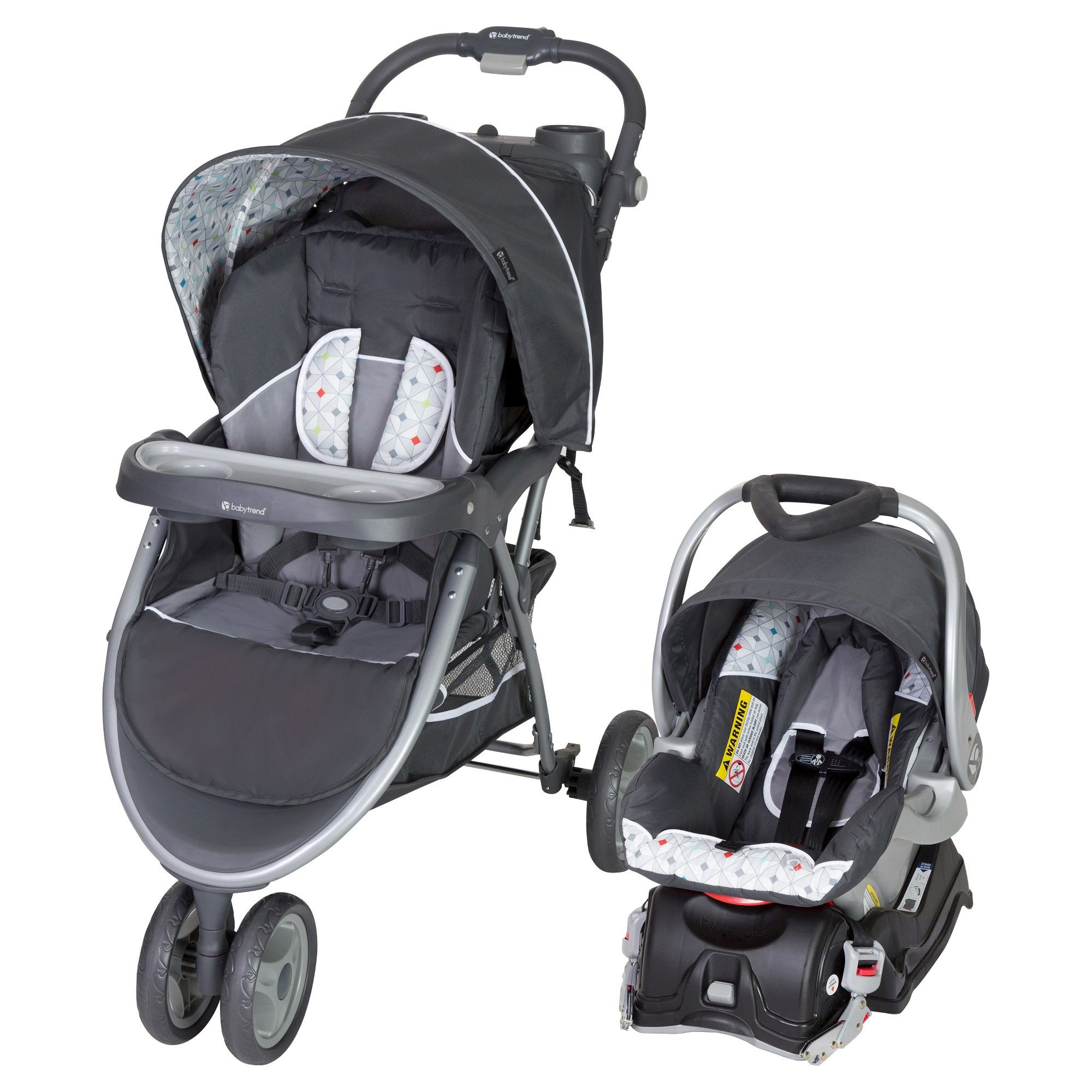 Baby Trend Skyview Travel System Diamond Geo Travel