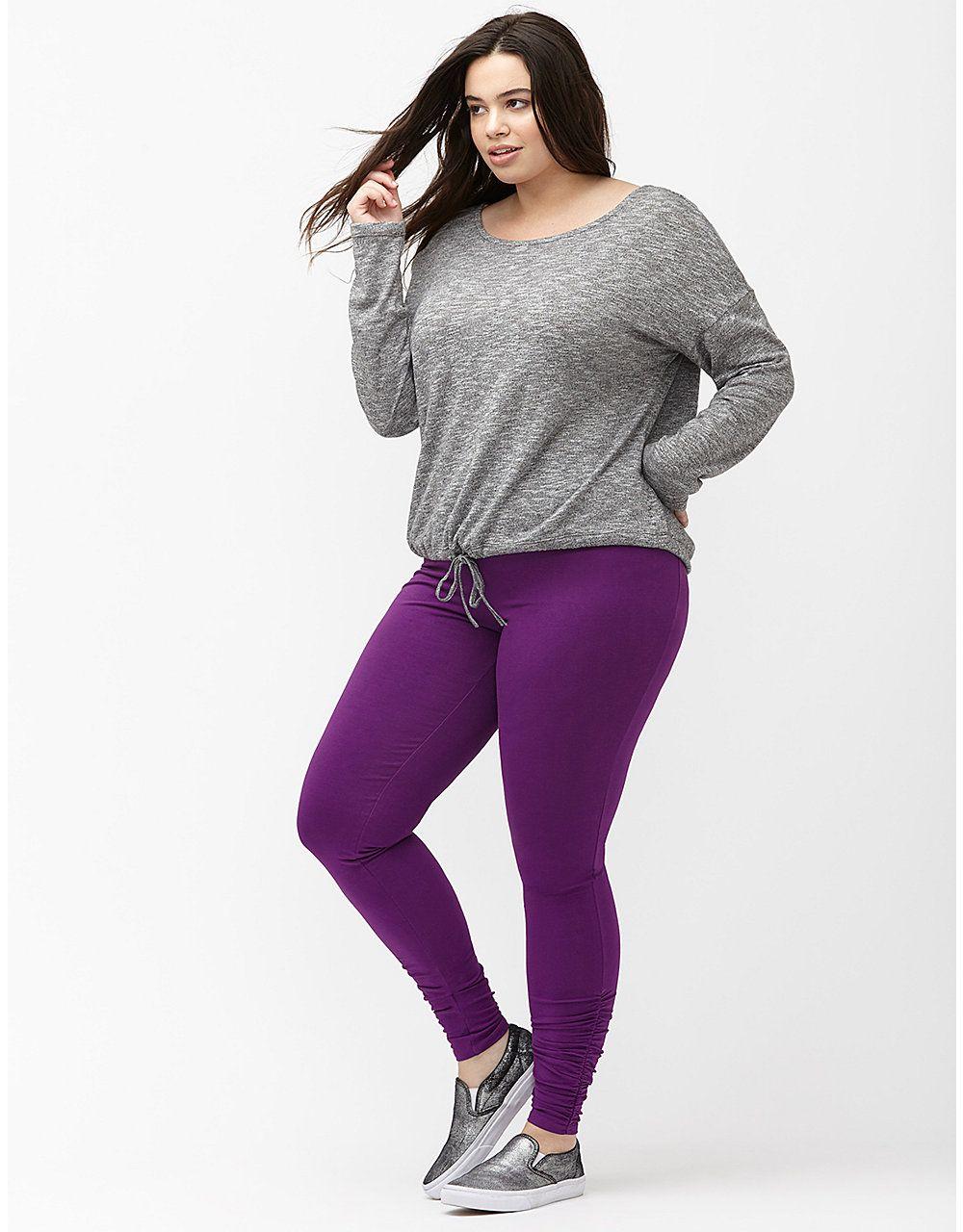 b8e7257528e Signature Stretch ruched active leggings by Livi Active
