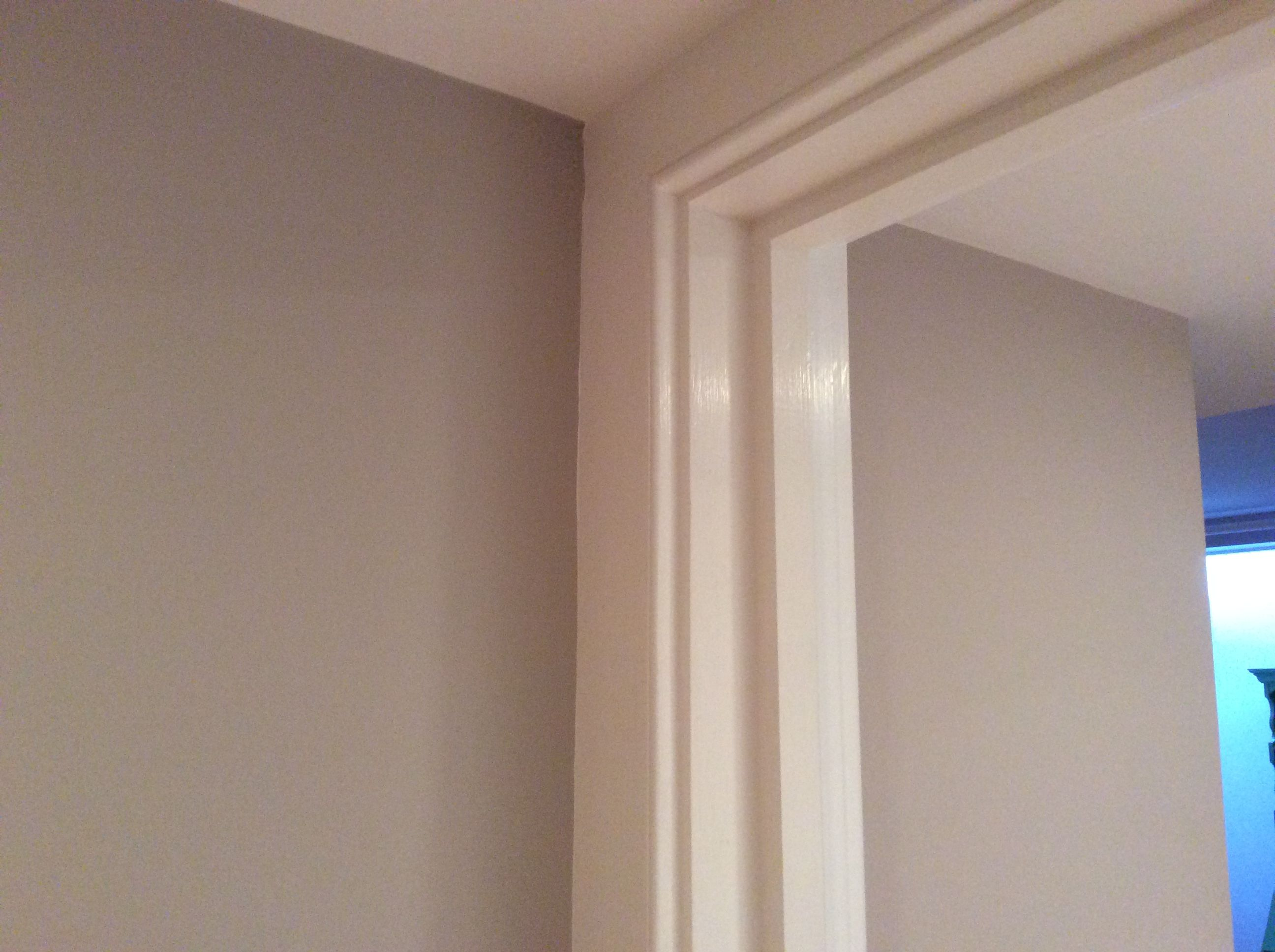Collingwood bm oc 28 select eggshell on the left wall - Eggshell paint on walls ...