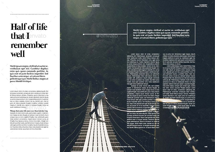 Magazine bundle indesign magazine templates magazine