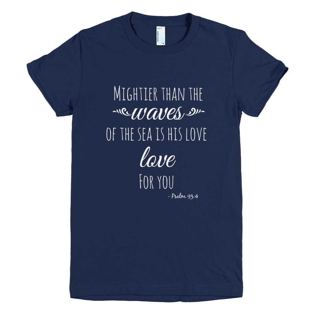 Mightier than the Waves Short-sleeve Tee