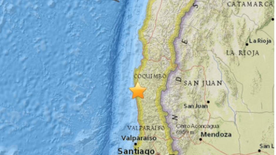 Varios Sismos Sacuden El Centro De Chile Cachicha Com Tsunami Earthquake Chile