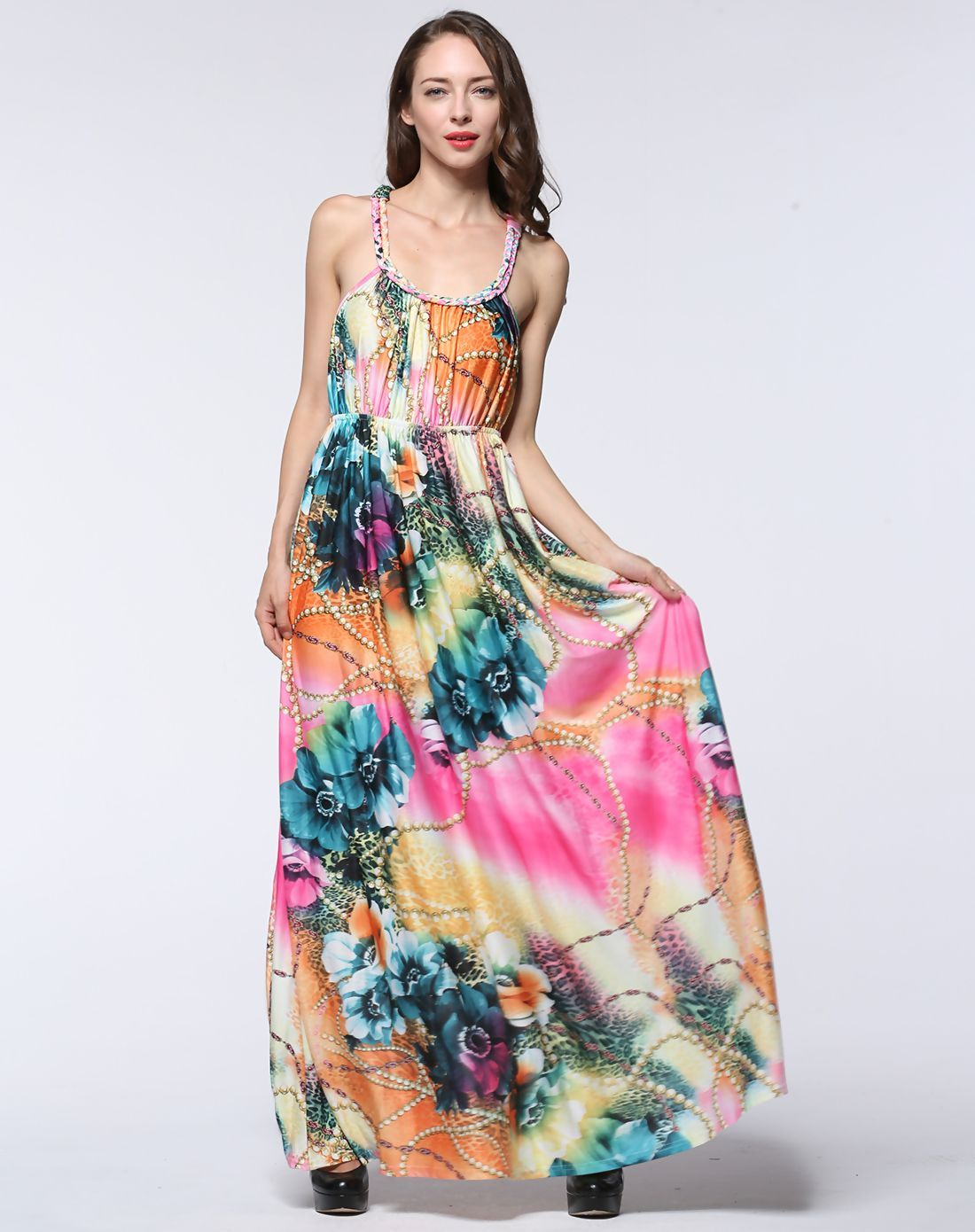 Adorewe vipme swing dressesdesigner chao meng plus boho