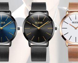 5aa3a1892f Elegantné dámske hodinky Olevs v troch rôznych prevedeniach ...