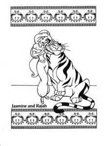 Jasmine And Rajah Coloring Page From Aladdin Category Select 27336 Printable Crafts Of Cartoons Nature Animals Bible Many More