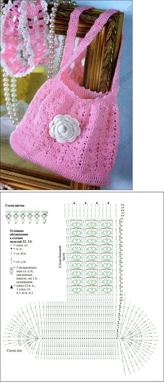 easy-peasy crochet bag! | Crochet Patterns | Pinterest | Bolso ...