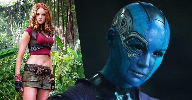 Karen Gillan Guardians of the Galaxy Vol. 2 Avengers: Infinity War ...