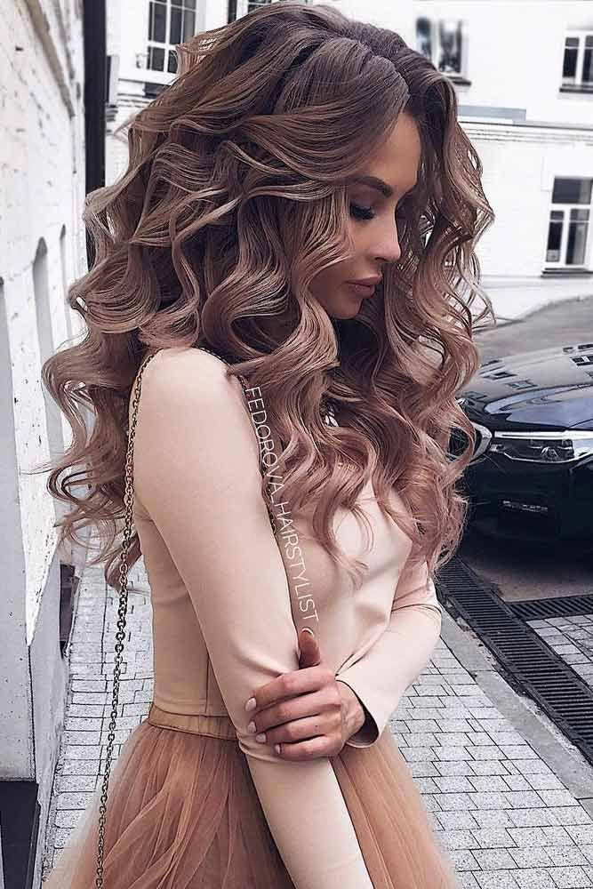 So Pretty Long Down Hairstyles for Prom Night picture6  ...