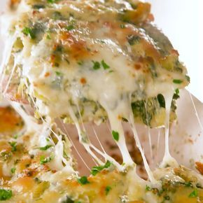 Spinach Artichoke Ravioli Bake Is Cheesy Bliss