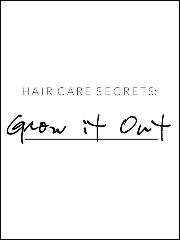 beauty tips: how to grow healthy + long hair
