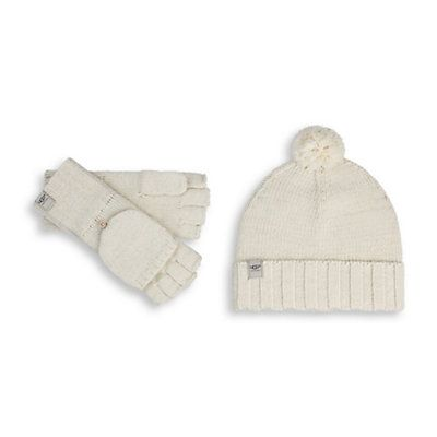 40a8ed549a1 UGG Australia Nyla Hat and Glove Gift Set Womens Hat