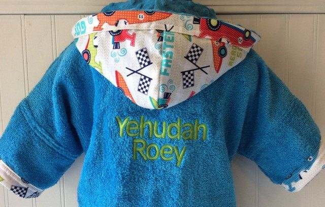 ... terrycloth childrens canada . san francisco d92e6 51d34 Kids-Bath-Robe-Personalized-Race-Car-  ... 1cd20441f