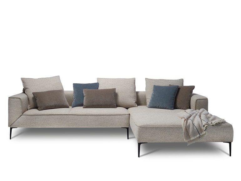 Canapé en tissu avec méri nne LONGUEVILLE LANDSCAPE by JORI