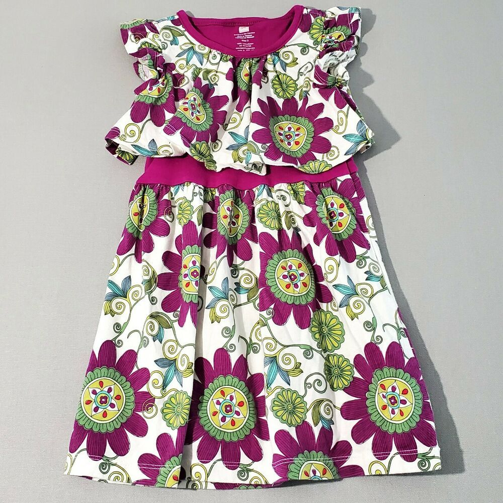 Tea Collection Girls Floral Cotton Multicolor Jangala Swing Dress 3 3t Kg1 Teacollection Swingdress Summer Dresses Dresses Fashion [ 1000 x 1000 Pixel ]