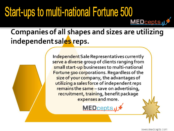 Companies of all shapes and sizes are utilizing independent
