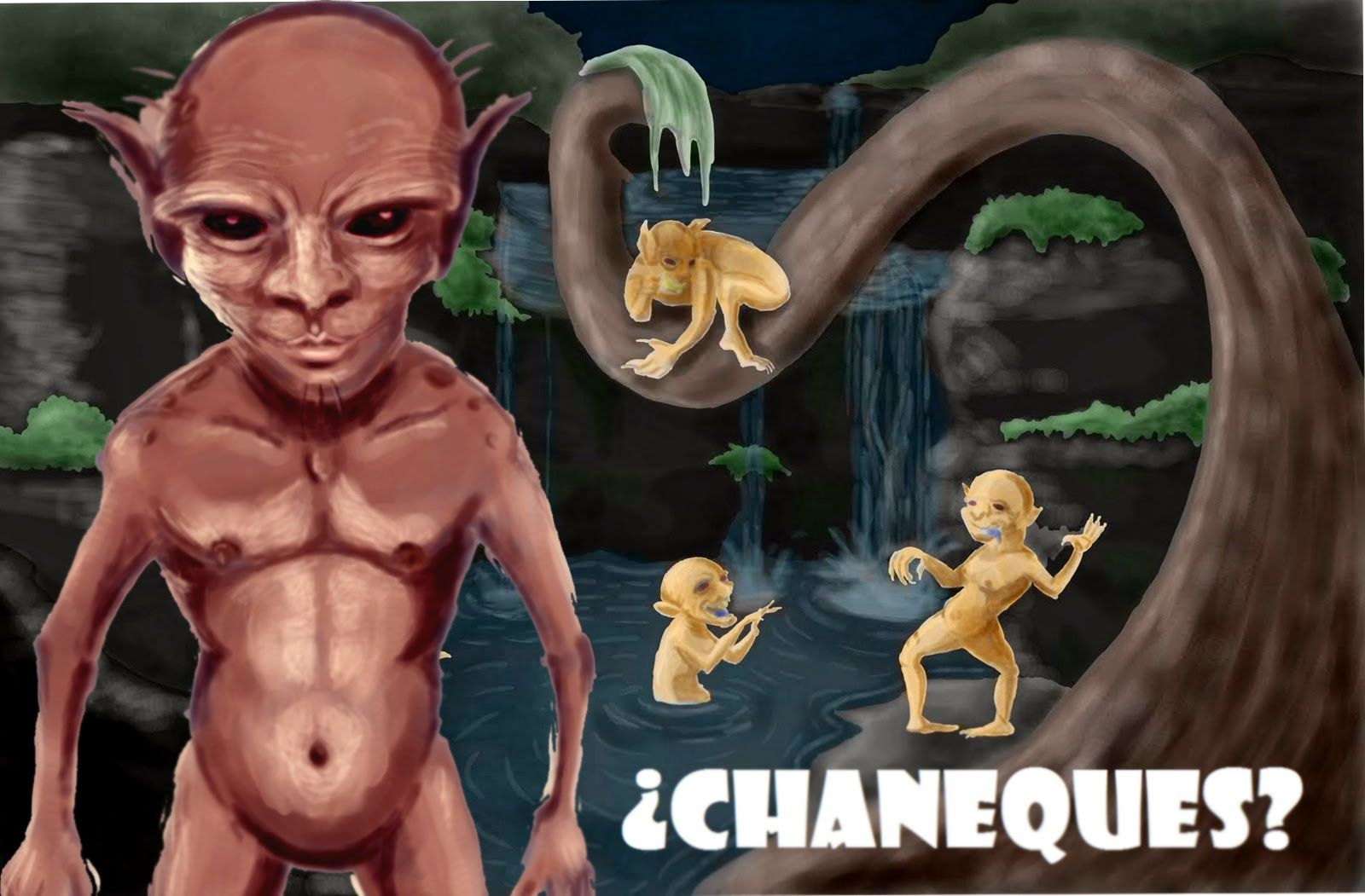 Chaneques Legends Of The Faeries Book Of Invasions