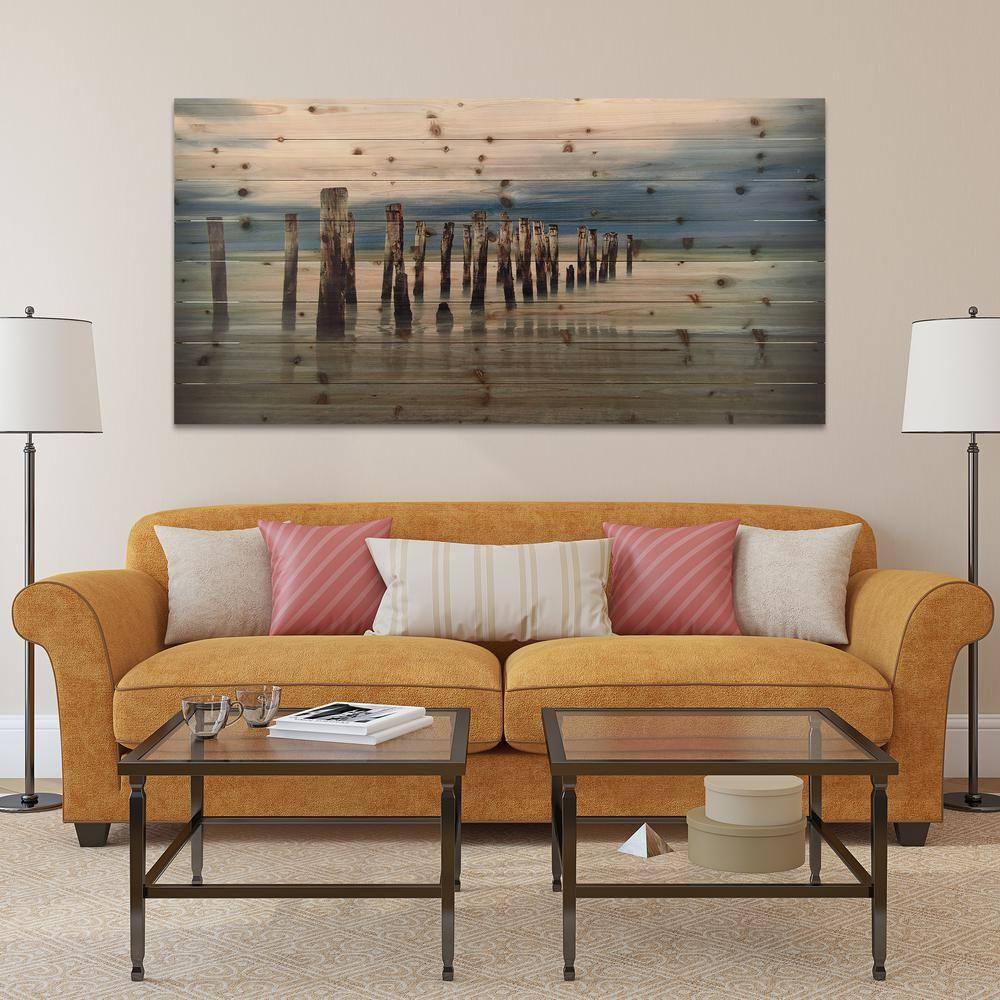 Empire art direct 30 in x 60 in low tide arte de
