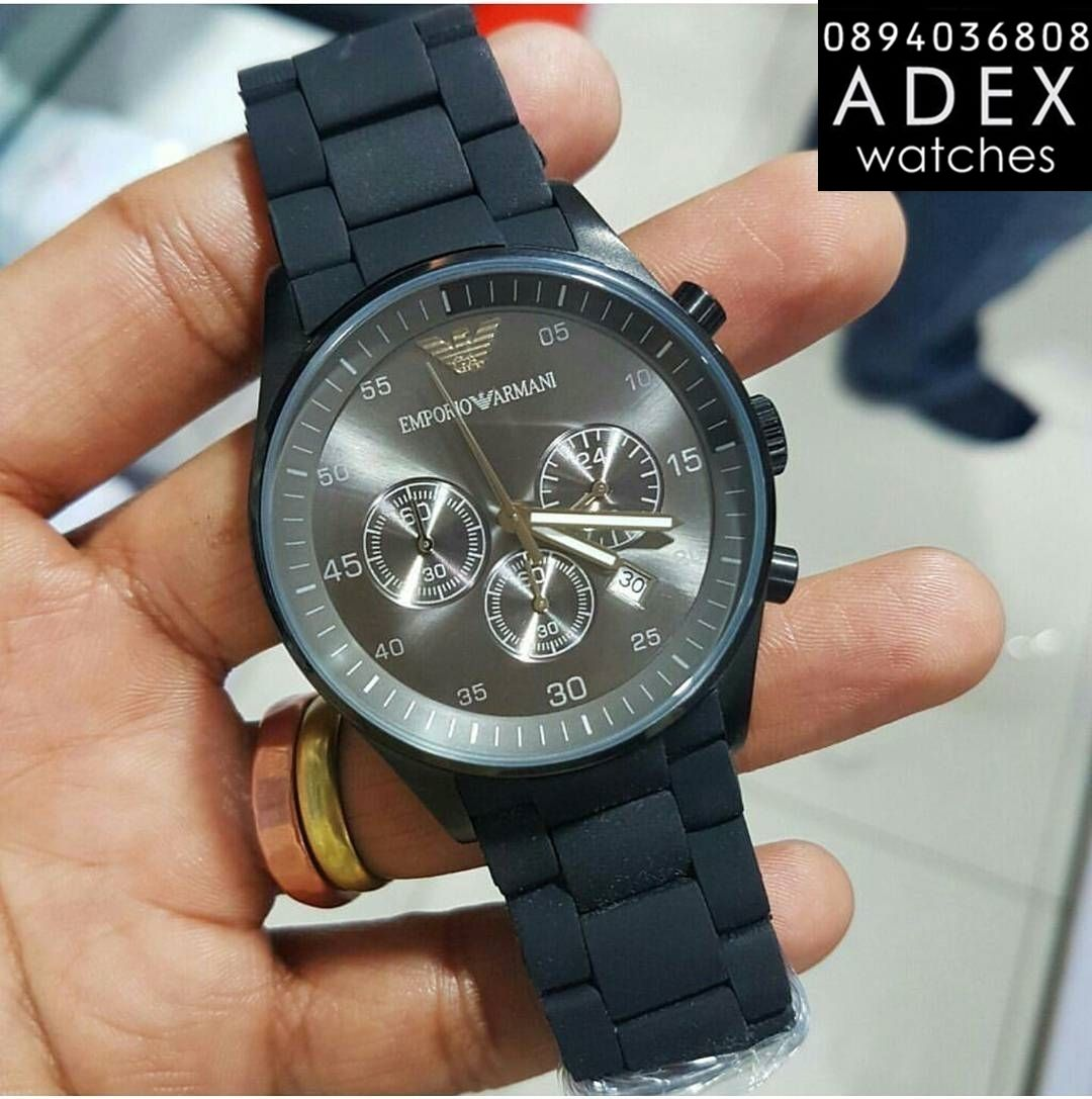 special section the cheapest factory price Emporio Armani Mens Rubber Watch AR5889 Мъжки Часовник ...