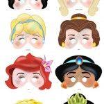 Laboratori per bambini : maschere delle principesse